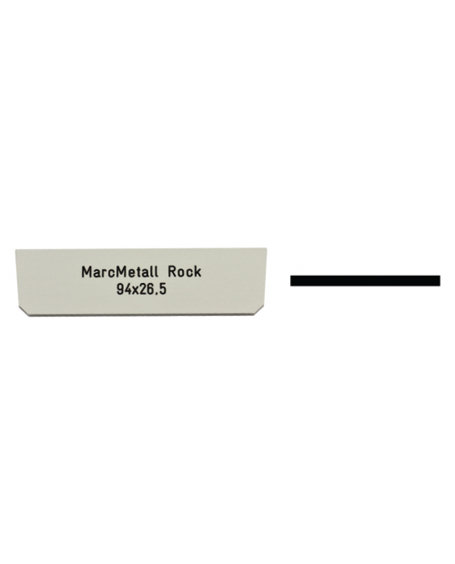 Marc Metall Rock 94 x 26,5 mm